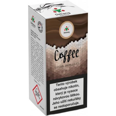 Liquid Dekang Coffee 10ml-6mg (Káva)