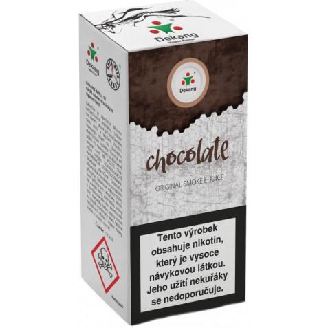 Liquid Dekang Chocolate 10ml-11mg (Čokoláda)
