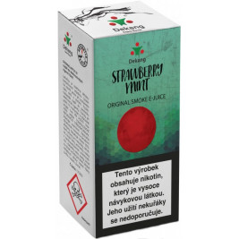 Liquid Dekang Strawberry mint 10ml - 18mg (Jahoda s mátou)