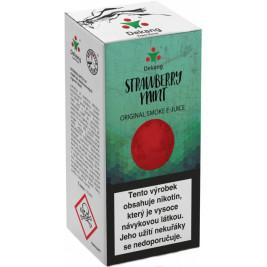 Liquid Dekang Strawberry mint 10ml - 18mg (Jahoda s mátou)