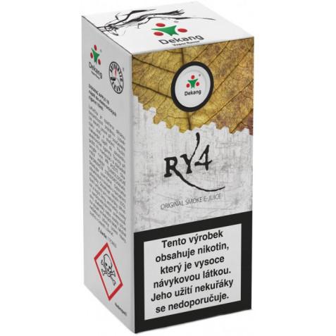 Liquid Dekang RY4 10ml - 11mg (směs karamelu, vanilky a tabáku)