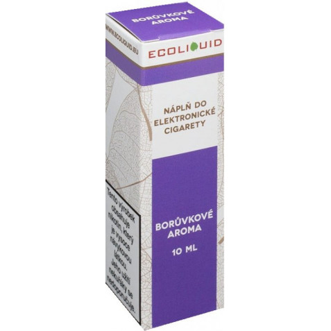 Liquid Ecoliquid Blueberry 10ml - 12mg (Borůvka)