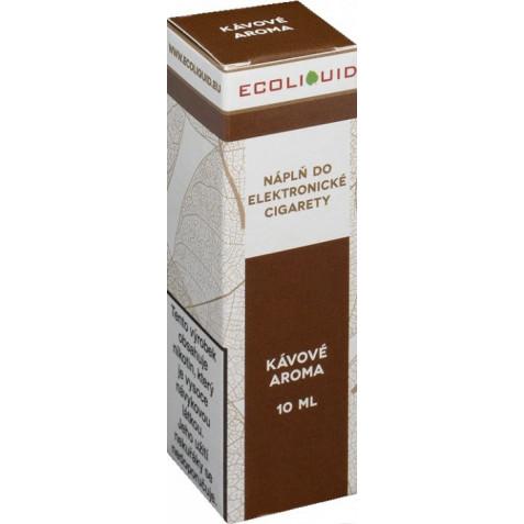 Liquid Ecoliquid Coffee 10ml - 20mg (Káva)
