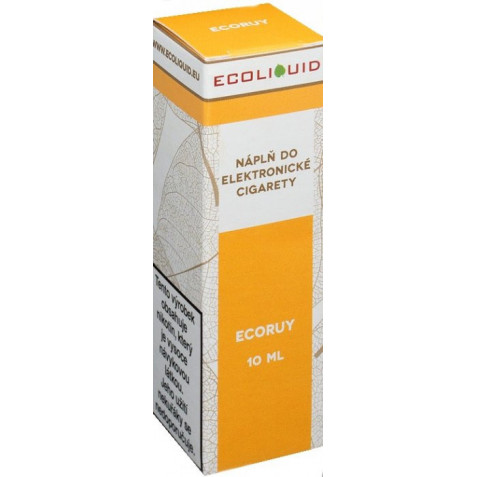 Liquid Ecoliquid ECORUY 10ml - 12mg