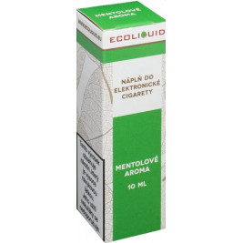 Liquid Ecoliquid Menthol 10ml - 6mg