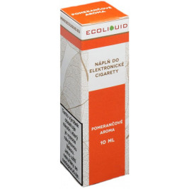 Liquid Ecoliquid Orange 10ml - 6mg