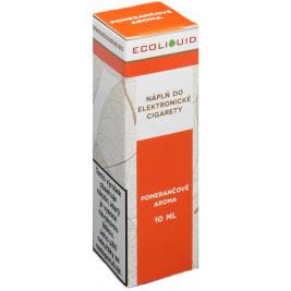 Liquid Ecoliquid Orange 10ml - 6mg