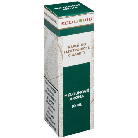 Liquid Ecoliquid Watermelon 10ml - 6mg (Vodní meloun)