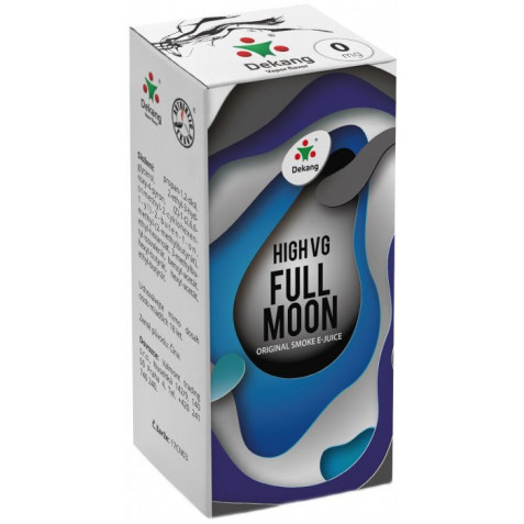 Liquid Dekang High VG Full Moon 10ml - 0mg (Maracuja bonbon)