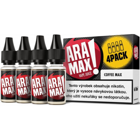 Liquid ARAMAX 4Pack Coffee Max 4x10ml-3mg