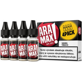 Liquid ARAMAX 4Pack Sahara Tobacco 4x10ml-3mg