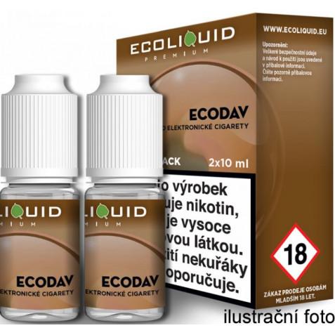 Liquid Ecoliquid Premium 2Pack ECODAV 2x10ml - 6mg