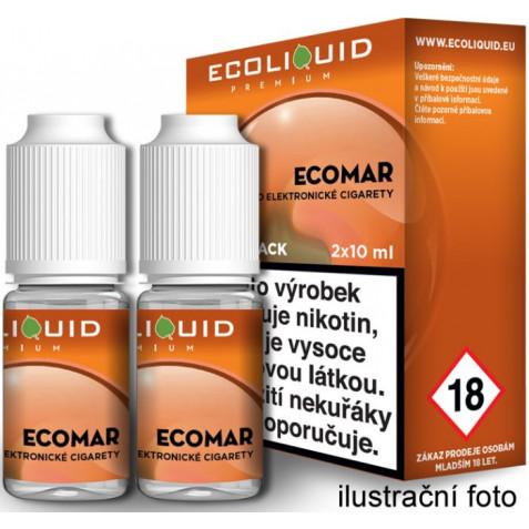 Liquid Ecoliquid Premium 2Pack ECOMAR 2x10ml - 20mg