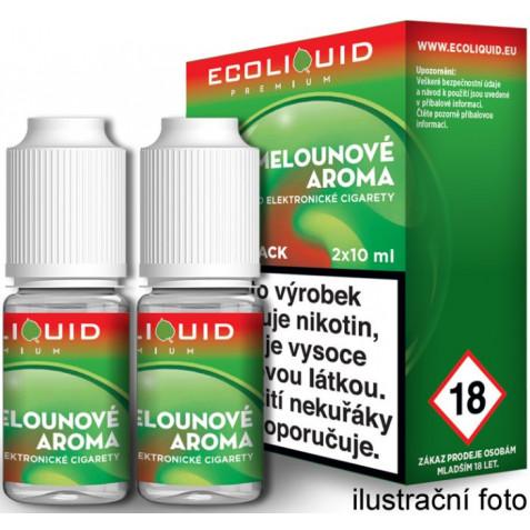 Liquid Ecoliquid Premium 2Pack Watermelon 2x10ml - 3mg (Vodní meloun)
