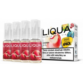 Liquid LIQUA CZ Elements 4Pack Cherry 4x10ml-6mg (třešeň)