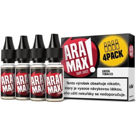 Liquid ARAMAX 4Pack Green Tobacco 4x10ml-12mg