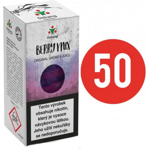 Liquid Dekang Fifty Berry Mix 10ml - 11mg (Lesní Plody)