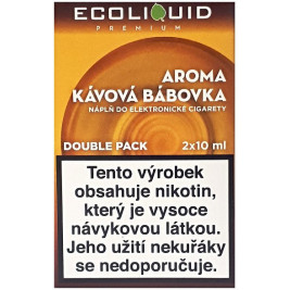 Liquid Ecoliquid Premium 2Pack Coffee Cake 2x10ml - 6mg