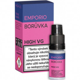 Liquid EMPORIO High VG Blueberry 10ml - 0mg