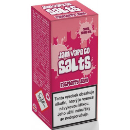 Liquid Juice Sauz SALT The Jam Vape Co Raspberry Jam 10ml - 10mg