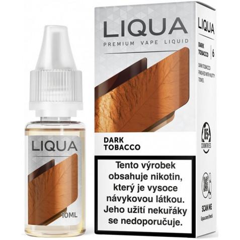 Liquid LIQUA CZ Elements Dark Tobacco 10ml-18mg (Silný tabák)
