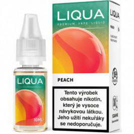 Liquid LIQUA CZ Elements Peach 10ml-12mg (Broskev)
