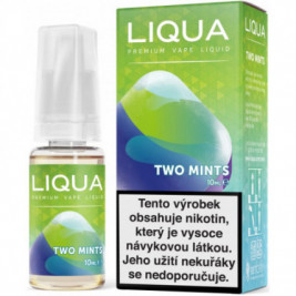 Liquid LIQUA CZ Elements Two Mints 10ml-12mg (Chuť máty a mentolu)